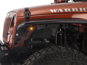 Warrior Products 2731 Tube Flare Side Marker Light Kit