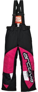Arctiva Comp Insulated Youth Bib Pink/White (Pink, 12)