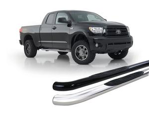 """Smittybilt TN1140-S4S Sure Step Side Bar For 04-06 Tundra Stainless 3""""  No Drill"""