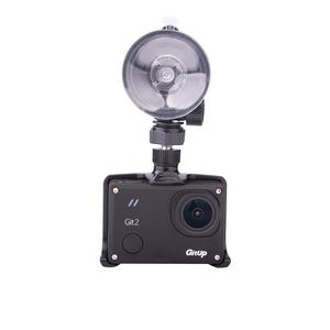 GIT2 Dash Camera w/ GIT Camera Frame Suction Cup Mount Cigarette Adapter Cable