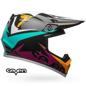 Bell Helmets MX-9 MIPS Seven Ignite Helmet Gloss Aqua (Blue, XX-Large)