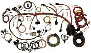 American Autowire Wiring System Camaro 1970-73 Kit P/N 510034