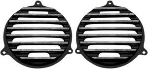 Covingtons Black Diamond Speaker Grill For Harley Davidson FLH 14-17 C0050-D