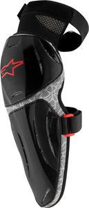 Alpinestars Vapor Pro Knee Guard Protector (Pair) Black/Grey Mens Size L/XL
