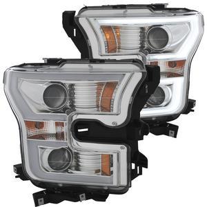 Anzo USA 111348 Projector Headlight Set Fits 15-17 F-150