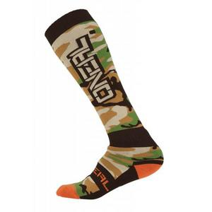 ONeal Pro MX Woods Camo Socks Wood Camo (Tan, OSFM)