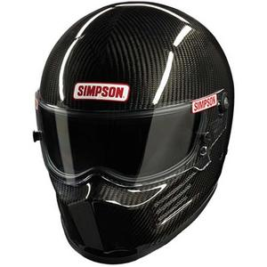 SIMPSON SAFETY 2X-Large Carbon Fiber Bandit Helmet P/N 620005C