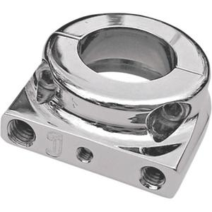 Joker Machine 03-148 JX Series Dual-Cable Throttle Housing - Thread-In Cable - Chrome