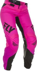 Fly Racing Lite Girls Youth Pants Neon Pink/Black (Pink, 22)