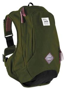 USWE 2160412 Scrambler 16 Retro Backpack - Olive Green