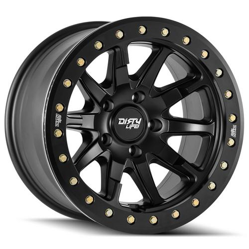"Dirty Life 9304 DT-2 20x9 8x170 +0mm Matte Black Wheel Rim 20"" Inch"