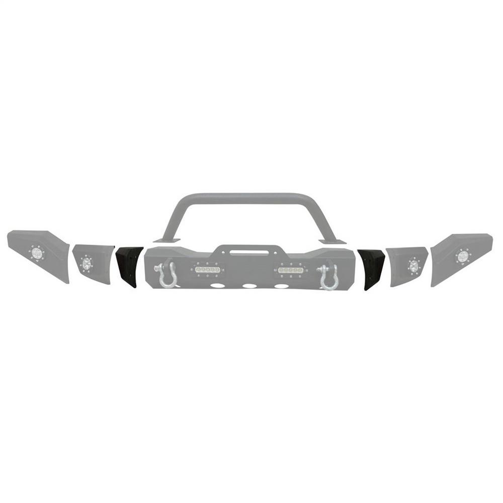 Paramount Automotive 51-0049-3 MOD Front Bumper Corner Fits 97-06 Wrangler (TJ)