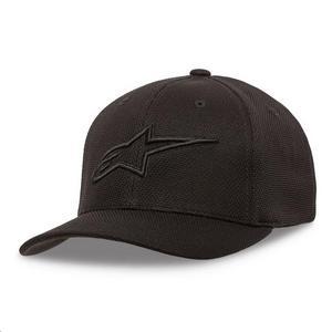 Alpinestars Ageless Mock Mesh Hat Black/Black (Black, Small - Medium)