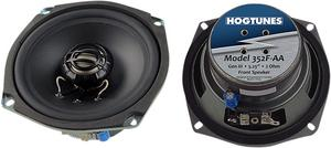 """Hogtunes 5.25"""" Front Replacement 2 OHM Speakers For 06-13 FLHT/FLHX/H-D FL Trike"""