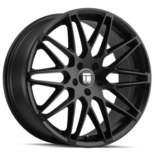 """Touren TR75 19x9.5 5x112 +38mm Matte Black Wheel Rim 19"""" Inch"""