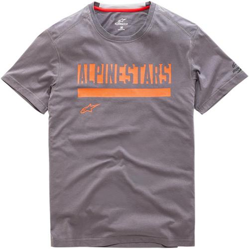 Alpinestars Stated Ride Dry T-Shirt Charcoal (Gray, X-Large)