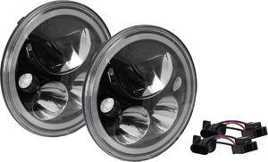 Vision X Lighting 9892443 Vortex LED Headlight Fits 07-15 Wrangler (JK)