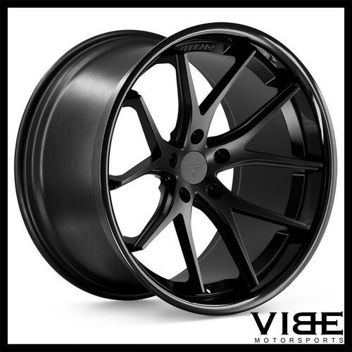 19 Ferrada Fr2 Black Concave Wheels Rims Fits Bmw E60 M5 Sold By
