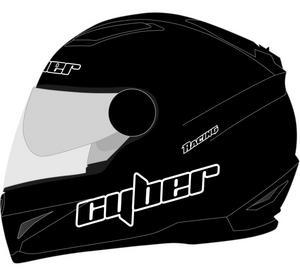Cyber Adult Motorcycle Helmet US-108 Matte Black S