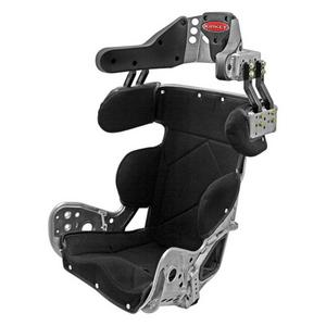 KIRKEY Black Tweed Snap Attachment Seat Cover P/N 7915011