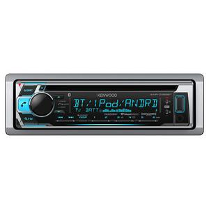 Kenwood KMR-D368BT  Marine Boat CD Receiver iPhone iPod Stereo USB Bluetooth