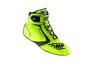 OMP Racing Size 13 Lime 40th Anniversary Driving Shoes P/N IC80109948