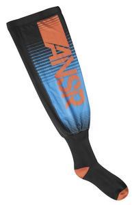 Answer Race Pro Socks Blue/Orange (Orange, Large - X-Large)