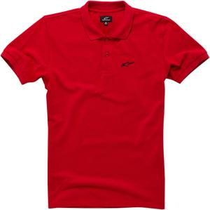 Alpinestars Adult T-Shirt Effortless Red Polo Shirt M