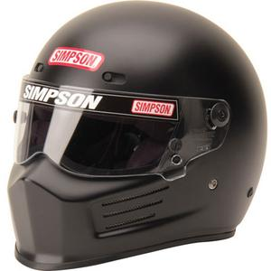 SIMPSON SAFETY XX-Large Matte Black Snell SA2015 Super Bandit Helmet P/N 6210058