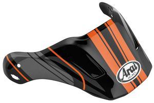 Arai Helmets 806836 Visor for XD4 Helmet - Distance Orange