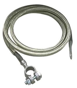 Taylor Cable 20041 Diamondback Shielded Stainless Braided Battery Cable