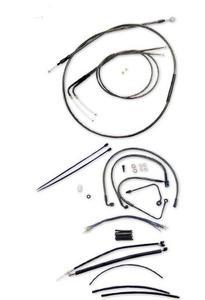 Magnum 487572 Black Pearl Handlebar Installation Kit for 15-17in. Ape