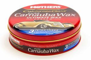 Mothers California Gold Brazilian Carnauba Paste Wax 12 oz Can P/N 05550