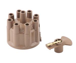 ACCEL 8330 Distributor Cap And Rotor Kit Socket Style Tan Prestolite Distributor