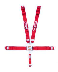 SIMPSON SAFETY Red Latch and Link 5 Point Harness P/N 29073RD
