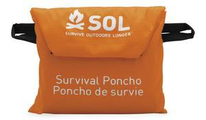 Adventure Medical Kits 0140-6001 Survive Outdoors Longer Survival Poncho