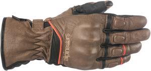 Alpinestars Cafe Divine Drystar Motorcycle Gloves Brown/Black Mens Size XL