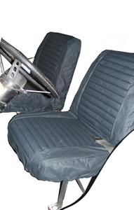 Bestop Seat Cover Set, Front High-back Seat - Jeep 1965-1979 CJ5, 1976-1980 CJ7