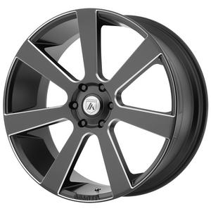 "4-Asanti ABL-15 Apollo 26x10 6x5.5"" +15mm Black/Milled Wheels Rims 26"" Inch"