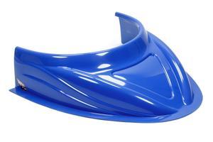 FIVESTAR Chevron Blue Dirt Late Model 5 in Height MD3 Hood Scoop P/N 040-4113-CB