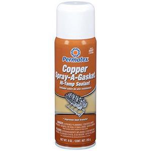 Copper SPRAY-A-GASKET® Hi Temp Adhesive Sealant, 12 oz. aerosol can (80697)