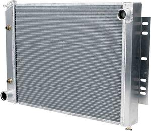 Allstar Performance Mopar 1966-80 Radiator 29 x 19-1/2 x 2-1/4 in P/N 30306