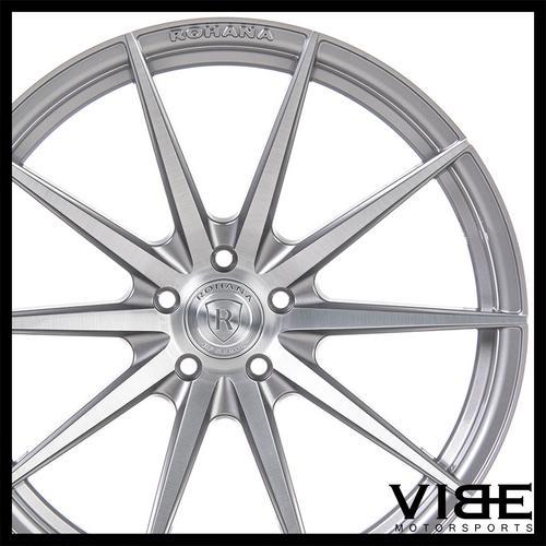 20 Rohana Rf1 Titanium Concave Wheels Rims Fits Cadillac Cts V