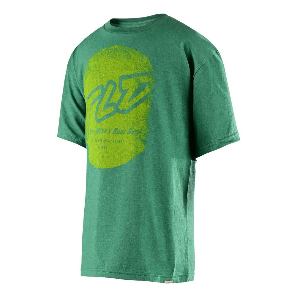 Troy Lee Designs 2017 Stomp T-Shirt Kelly Heather Youth Size S