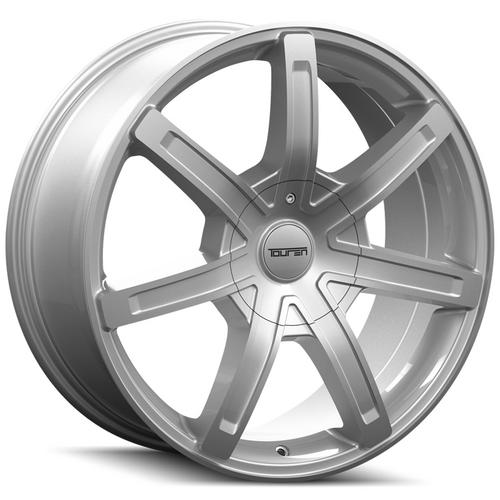 "Touren TR65 20x8.5 5x112/5x120 +35mm Silver Wheel Rim 20"" Inch"