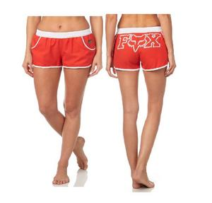 Fox Creo Womens Boardshorts Strawberry (Red, Large)