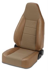 Bestop Trailmax II Sport Seat, Front - Jeep 76-06 CJ7 And Wrangler