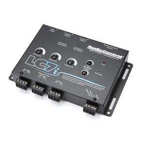AudioControl LC7i 6-Channel Line Out Converter, Accubass To Add Car Amps & Subs