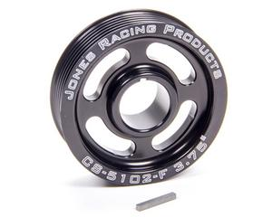 JONES RACING PRODUCTS 3-3/4 in OD Serpentine Crank Pulley P/N CS-5102-F