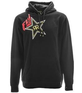 Fly Racing Rockstar Pullover Hoody (Black, Small)